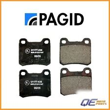 Rear Mercedes Benz 190E 260E 300CE 1986-1993 Brake Pad Set Pagid D328P / D 328 P