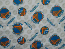 GOLDEN STATE WARRIORS NBA LICENSED QUILTING COTTON FABRIC FQ