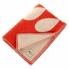 100% Lambswool Floral Decorative Throws