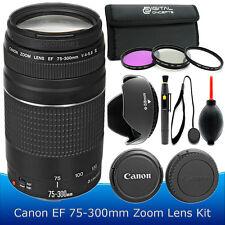 Canon EF 75-300mm f/4.0-5.6 III Lens Kit for Canon T5 T6 T3i T6i T6s T5i 70D 80D