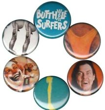 Butthole Surfers: Set of 6 Buttons-Pins-Badges *locust abortion technician* punk