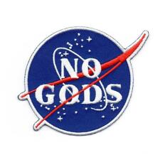 NO GODS EMBROIDERED PATCH BY MEAN FOLK