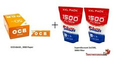 3000 carta Orange OCB 70 mm + 3000 filtri SuperDiscount Slim 6 mm