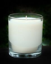 40hr COFFEE BEANS & COCONUT Scented Organic Soy Jar Votive Candle + COTTON WICKS