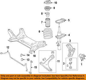 FORD OEM 2015 Transit-150 Stabilizer Sway Bar-Front-Bushings BK3Z5484A