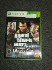 XBOX 360 Grand Theft Auto IV & Episodes from Liberty City Case and Manual ONLY