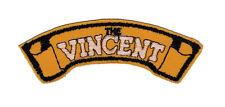 Vincent Shoulder Embroidered Patch