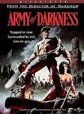 Army of Darkness (DVD, 1998, Widescreen) Bruce Campbell Sam Raimi