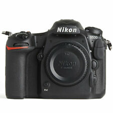 Nikon D500 20.9MP DX-Format Digital SLR Camera Body, Black