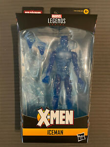"""Marvel Legends Age of Apocalypse Iceman from Colossus Wave New 6"""" No BAF Piece"""