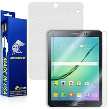 ArmorSuit MilitaryShield Samsung Galaxy Tab S2 9.7 Screen Shield + White Carbon