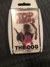 Top Trumps The Dog artlist collection super rare