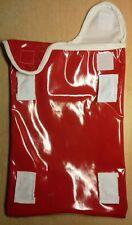 Waterproof Shower cap for Catheter leg bag.  PVC .