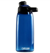 NEW Camelbak Chute 1L Oxford Blue Water Bottle BPA & BPS Free Dishwasher Safe!