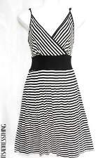 Petite Striped Sleeveless Short/Mini Dresses for Women