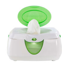 Munchkin Warm Glow Wipe Warmer with flip top and night light