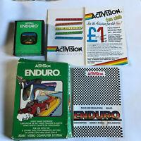 Enduro / CIB / Atari 2600 / Tested & Working / 7800 / Racing