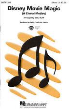 Película de Disney Magic (2 parte) 2 parte coro, piano acompañamiento partitura vocal