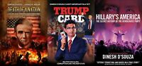 Dinesh D'Souza DVDs - Trump Card + Hillary's America + Death of a Nation - New!