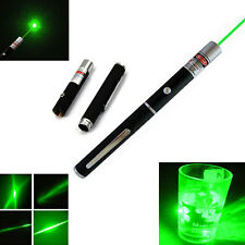 20pcs Sale Powerful 5mW 532nm Green Beam Laser Pointer Pen Light