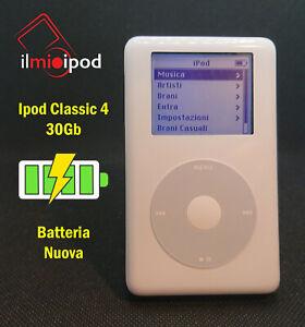 Ipod Classic 4 da 30Gb - Batteria nuova