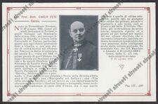 NOVARA TERDOBBIATE 11 CARLO FUSI - VARALLO - BAROLO Cartolina 1916