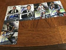 Philadelphia Union Signed 2016 Topps Mls Team Set all cards from Current Roster