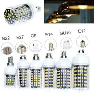 LED Corn Light Bulbs E27 E14 B22 Bayonet G9 2835 SMD 30W - 100W Equivalent Lamps