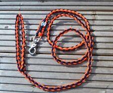Paracord Correa de Perro Plomo - 4 Strand (4 Pies)