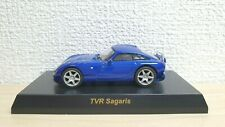 1/64 Kyosho TVR SAGARIS BLUE diecast car model