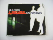 ERASURE - DON'T SAY YOUR LOVE IS KILLING ME (CD1) - CD SINGLE EXCELLENT 1997