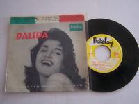 EP 45 T VINYLE 4 TITRES , DALIDA , COME PRIMA . VG - / VG
