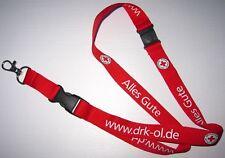 Deutsches cruz roja rdc Oldenburg llavero nuevo Lanyard (a52)