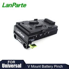 Lanparte V-mount Battery Pinch Plate DC D-tap USB Power Output for DSLR Camera