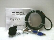 CODi A02001 Notebook Computer Key Cable Lock - 633886001436 Brand New!