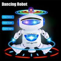 Baby Multifunktions intelligente Roboter Tanz Musik Kinder Spielzeug Geschenk