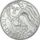 """Pièce de 10 euros des régions """"Ile de France"""" 2012."""