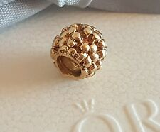 Authentic Pandora 14k Gold 'Flower Power' Daisy Charm Bead - 750297