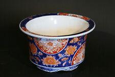 Cache-pot en porcelaine Japonaise, Imari / cachepot imari,  Japanese porcelain