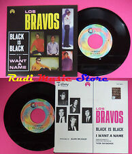 LP 45 7'' LOS BRAVOS Black is I want a name 1999 italy RED RONNIE cd mc dvd*