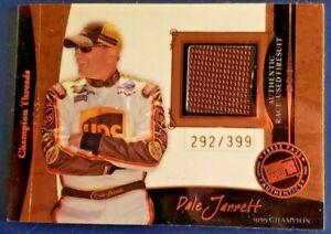 2006 Press Pass Legends Champion Threads BRONZE Dale Jarrett 292/399 Near Mint+