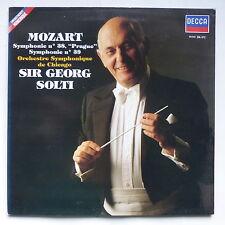 MOZART Symphonie 38 pRAGUE Orch symph Chicago SIR GEORG SOLTI 591343