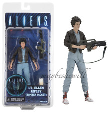 "NECA Aliens Lt. Ellen Ripley Bomber Jacket Aliens Series 12 New 7"" Action Figure"