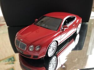1/18 Minichamps Bentley Continental GT speed Coupe 2008 red rouge Ref 100139620