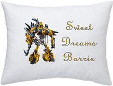 Bumblebee Transformers #1 Personnalisé Taie d'oreiller