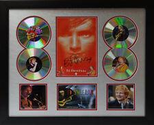 Ed Sheeran Signed Limited Edition Framed Memorabilia (s)
