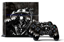 Skin Sticker for PS4 System Playstation 4 Console +2 Controller Decals REAPER