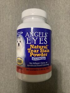 🔥Angel's Eyes Natural Tear Stain Powder Sweet Potato Flavor 2.65 oz Exp. 12-21