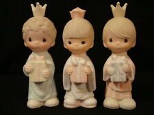 """Precious Moments-Large Nativity Additions """"Wee Three Kings"""" Retired 2008"""