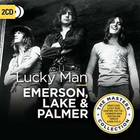 LAKE & PALMER EMERSON - LUCKY MAN (THE MASTERS COLLECTION)  2 CD NEW!